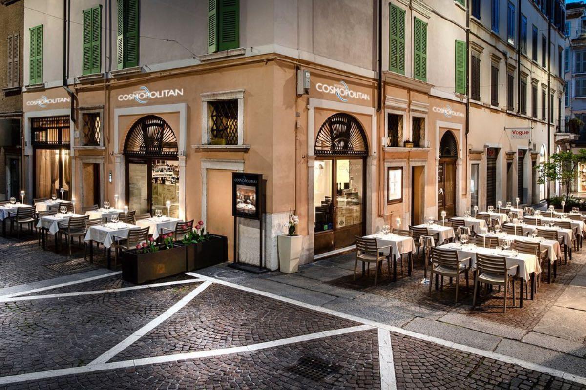 Cosmopolitan Mangiare all'aperto Brescia