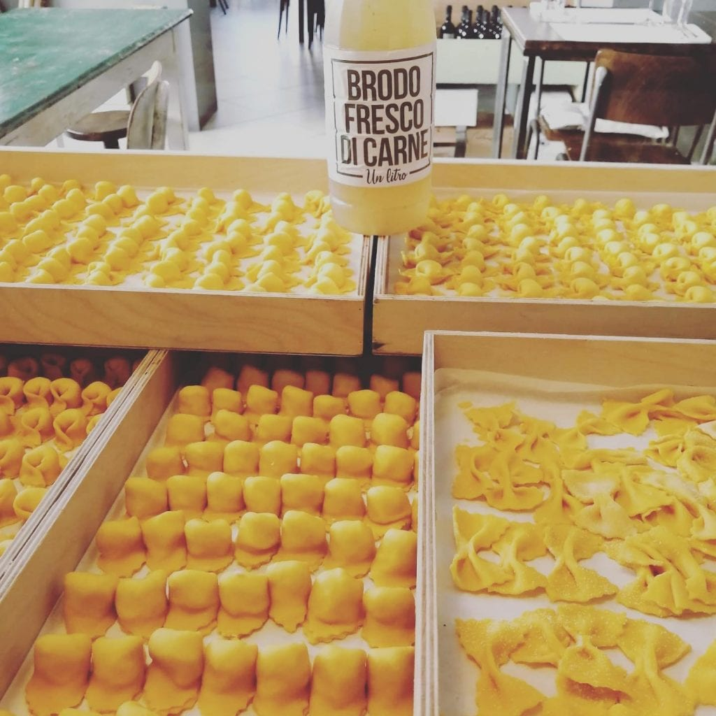 La pasta fresca di Cucina del Condominio2 ravenna