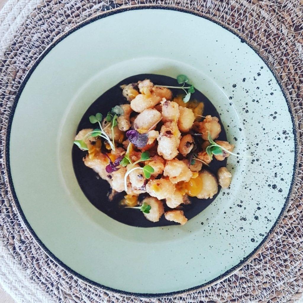 Un piatto di Finisterre beachmarina di ravenna