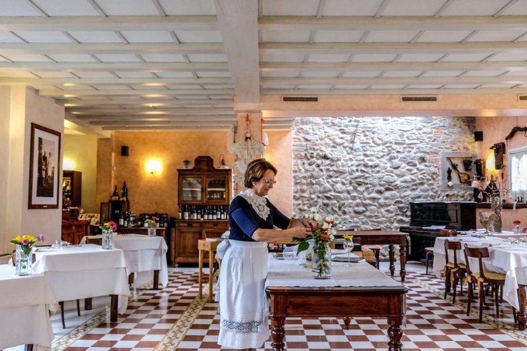 Fiorella Visconti Trattoria Visconti Premiate Trattorie Italiane. Foto Vannucchi