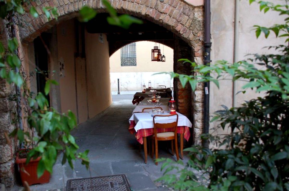 L'Osteria della Zia Gabri - Mangiare all'aperto Brescia