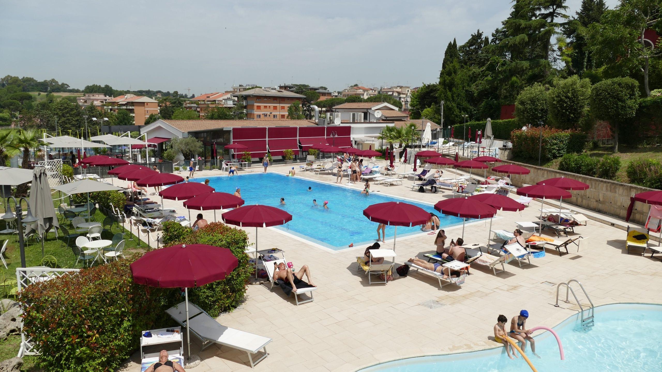 La piscina di Rosciolino al Play Pisana