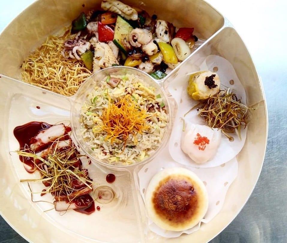 Il menu delivery di Mu Dim Sum