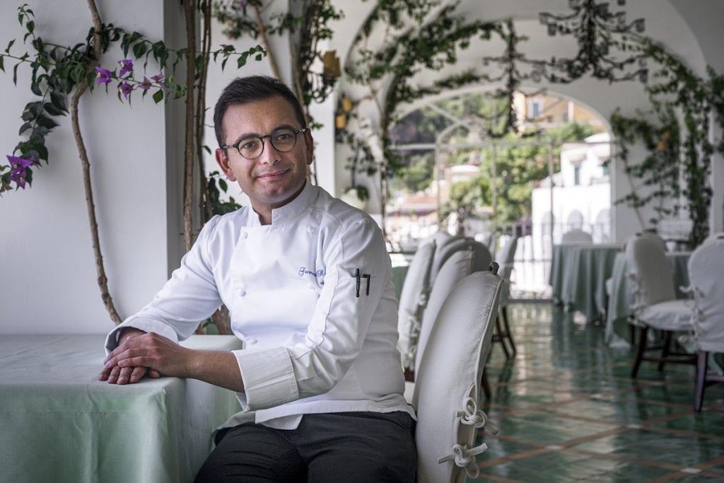 Chef gennaro russo LA SPONDA Sirenuse Foto Alessandro Zanoni