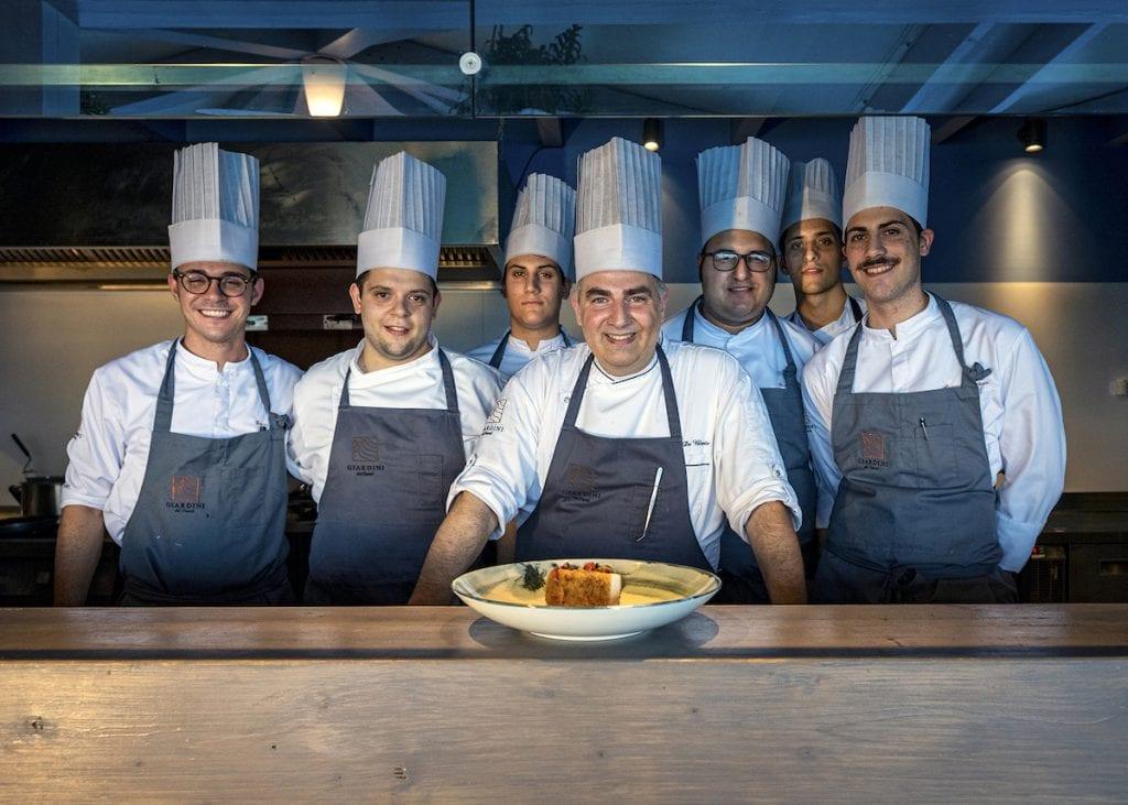 Chef De Blasio RIVA DEL FUENTI Foto Alessandro Zanoni