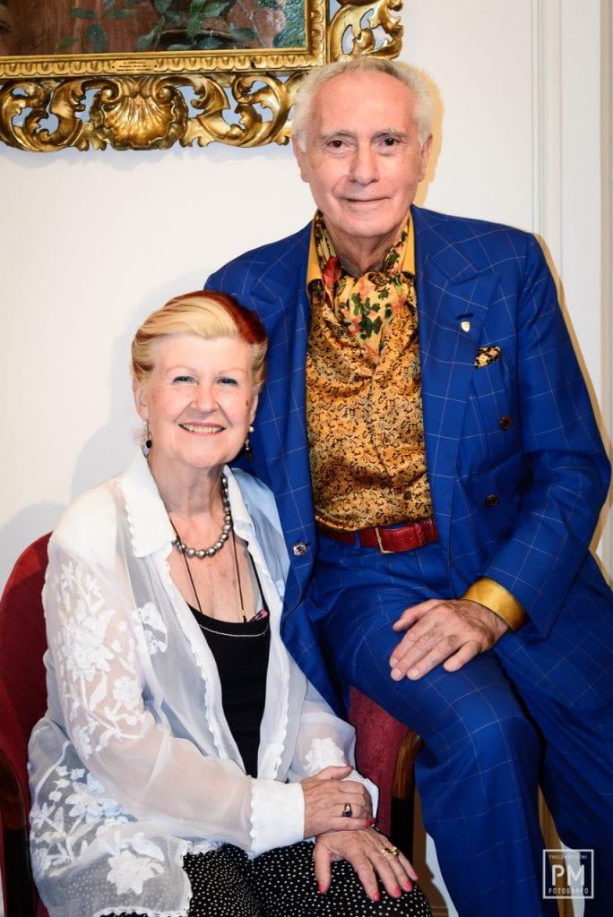Giorgio Pinchhiorri e Annie Feolde. Foto Paolo Matteoni