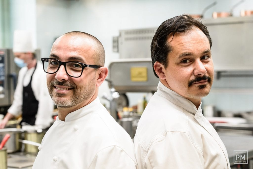 Pinchiorri. Riccardo Monco e Alessandro della Tommasina. Foto Paol Matteoni
