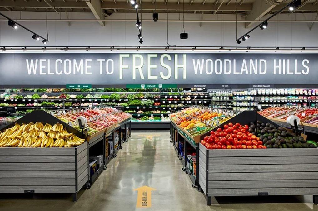 Lo store di Amazon Fresh