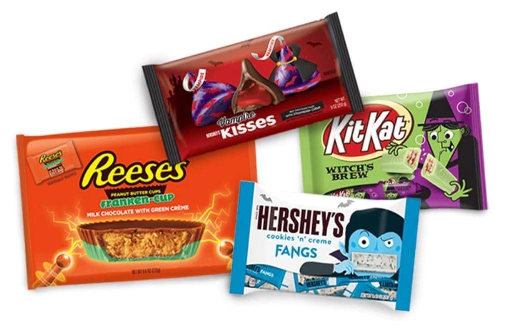 Gli snack per Halloween di Hershey