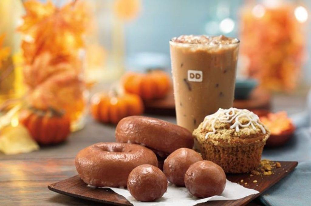 Pumpkin Spice Coffee di Dunkin Donuts
