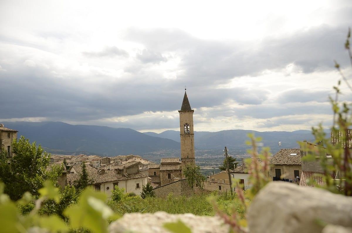 Un borgo dell'Appennino Centrale