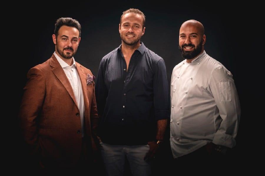 Marco Cilia, Davide Puleio e Mario Farulla