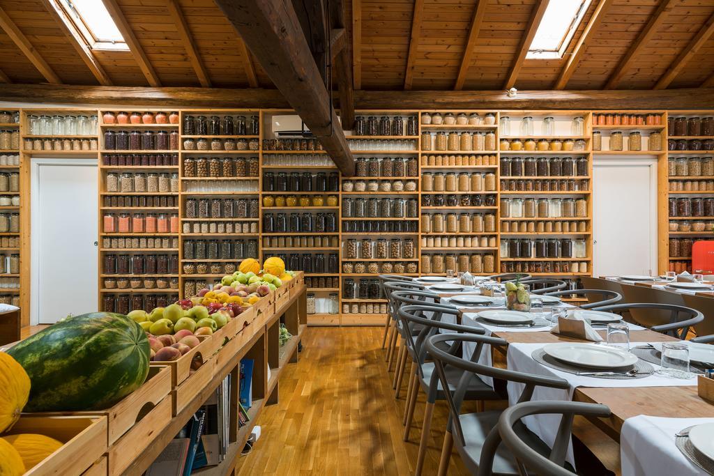 La sala colazioni di Habitat