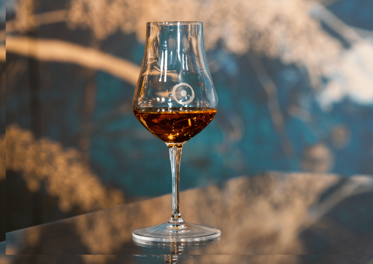 Un cocktail di Oro Whisky Bar. √