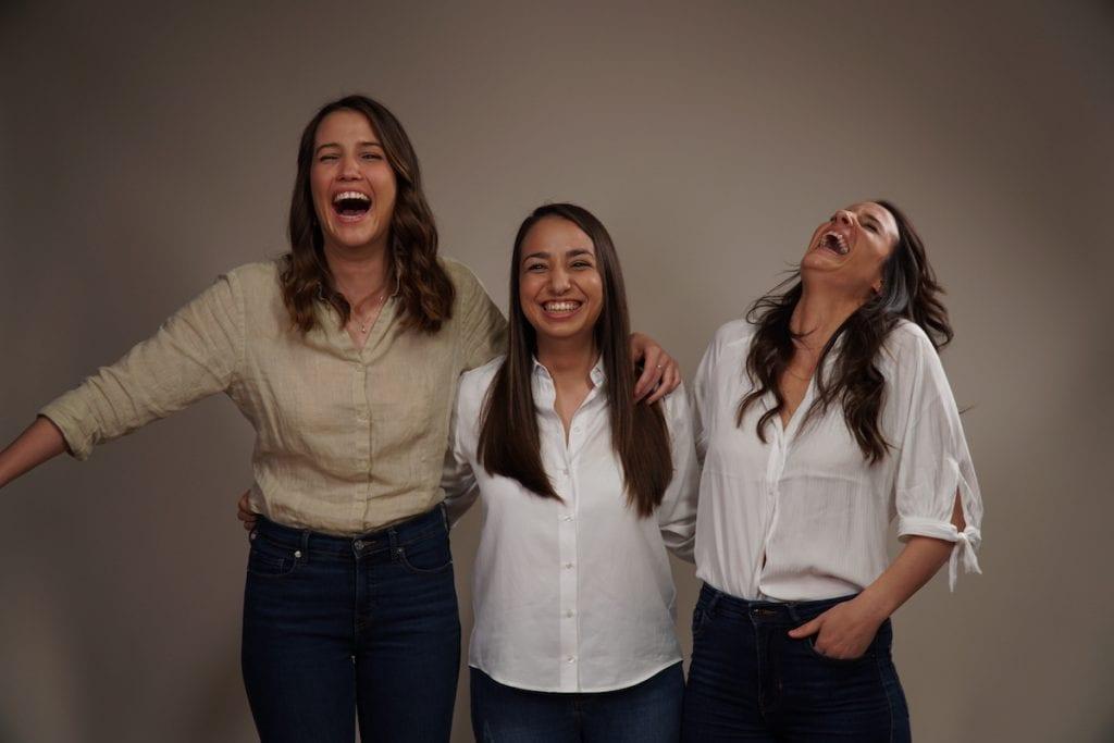 Paola Belia, Angela Romagnoli e Oranne Corelli di Cadesio