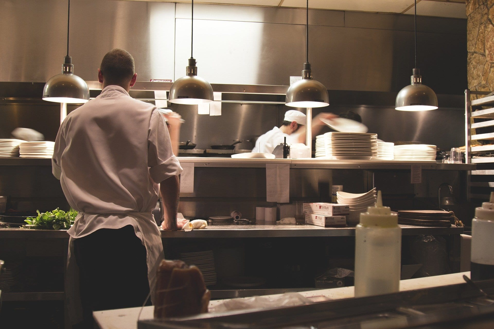 Lavoro in cucina