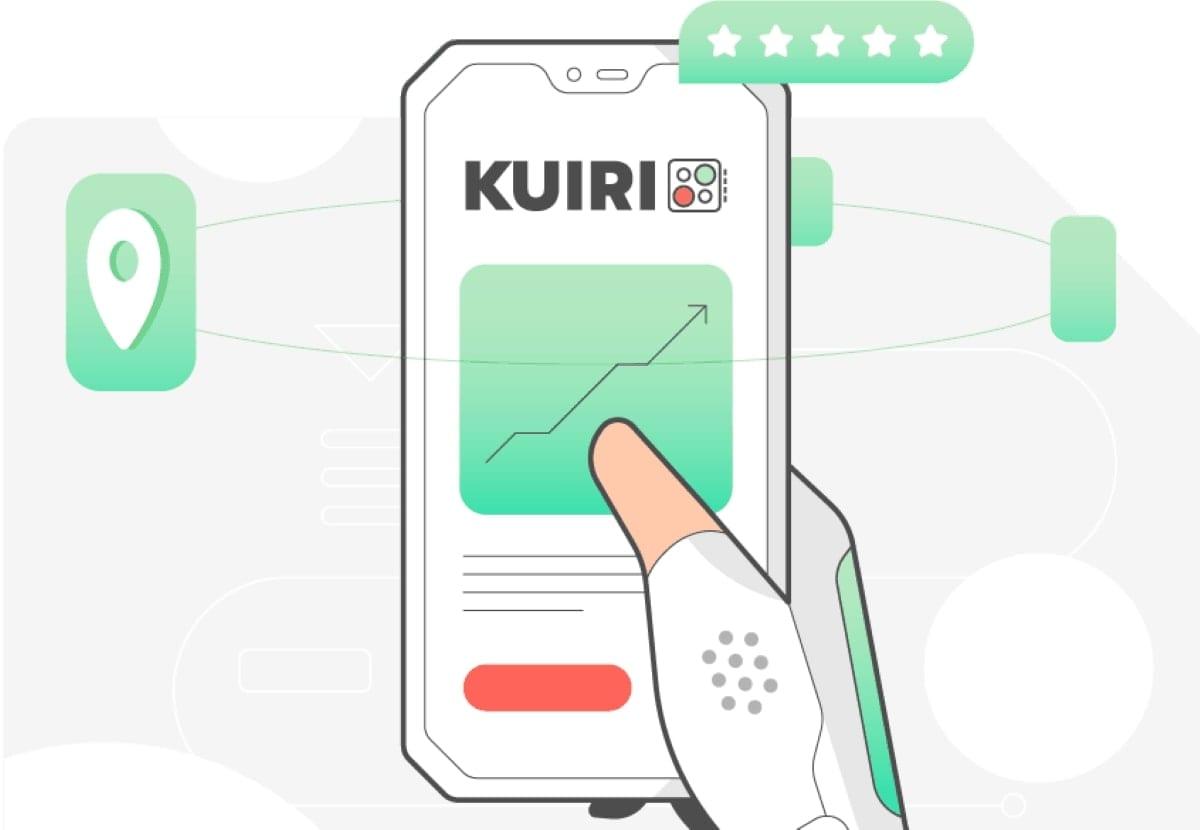 Il logo di Kuiri, la nuova cloud kitchen milanese