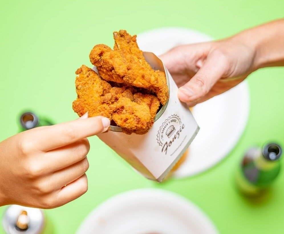 Le box di pollo fritto di Fonzie Burgers