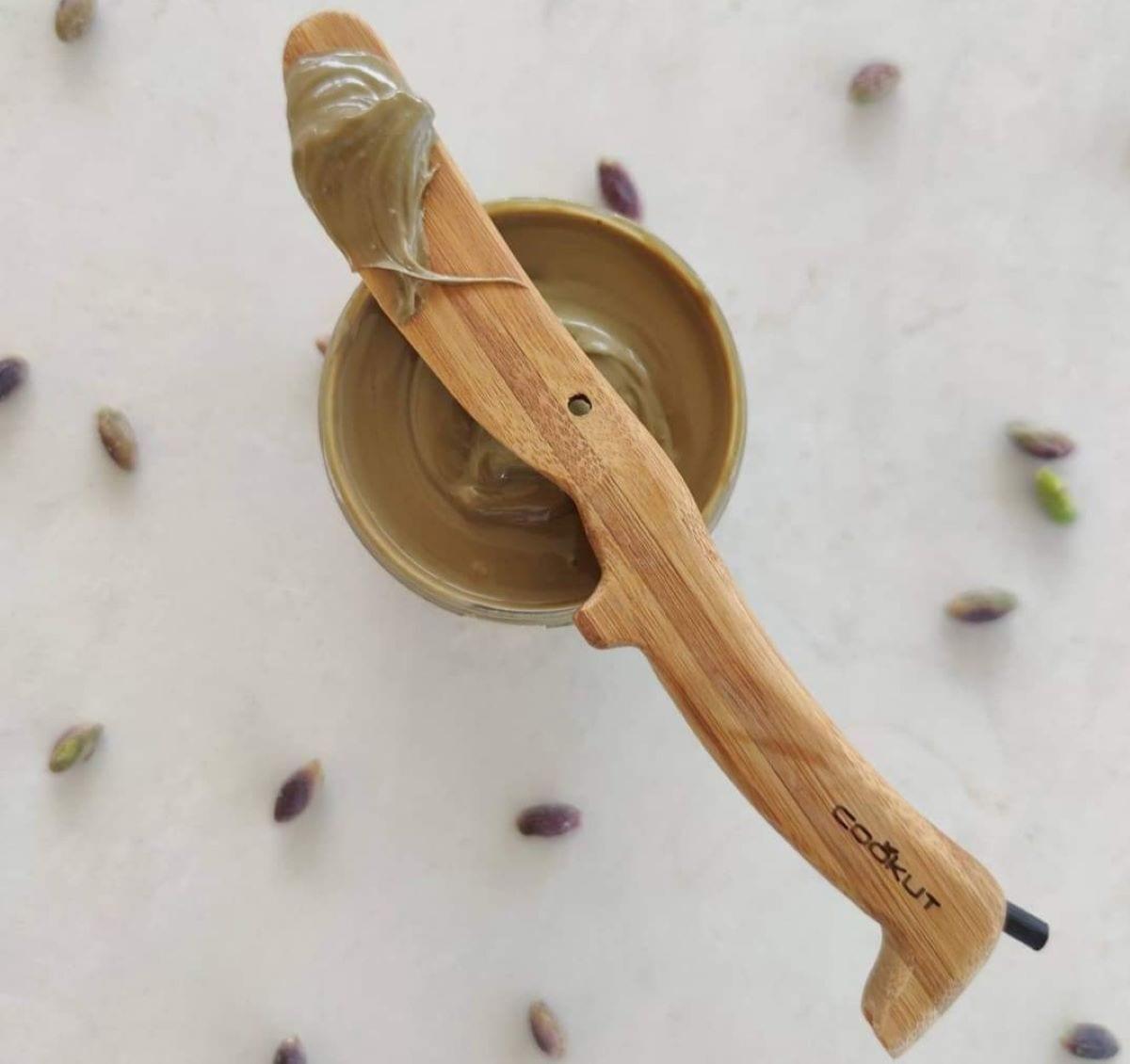 Crema al pistacchio della pasticceria Corsino