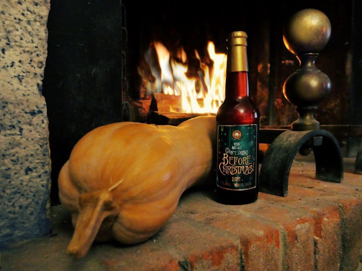 Birra natalizia Stirone Barleyfree
