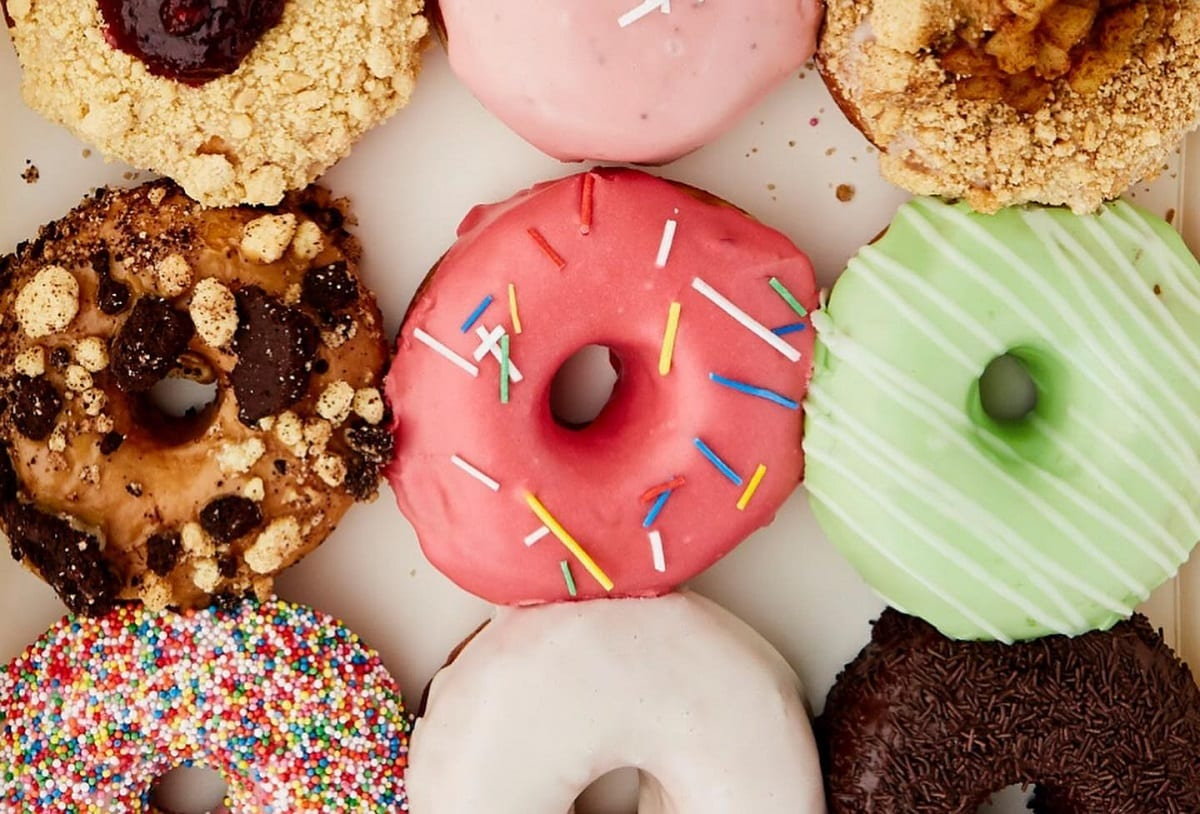 Assortimento di donut