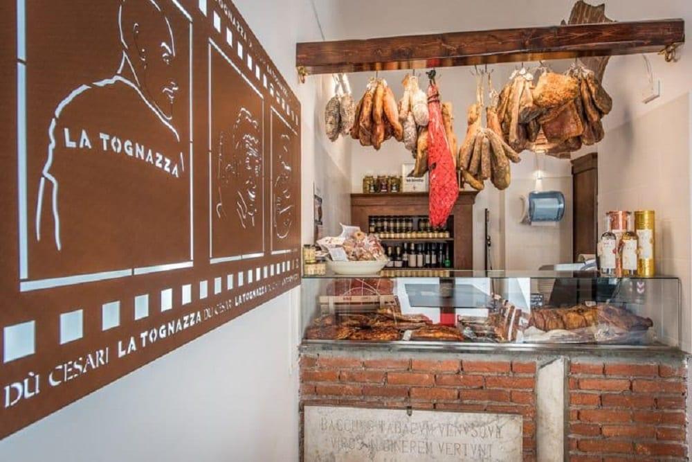 Il banco gastronomia di Du Cesari