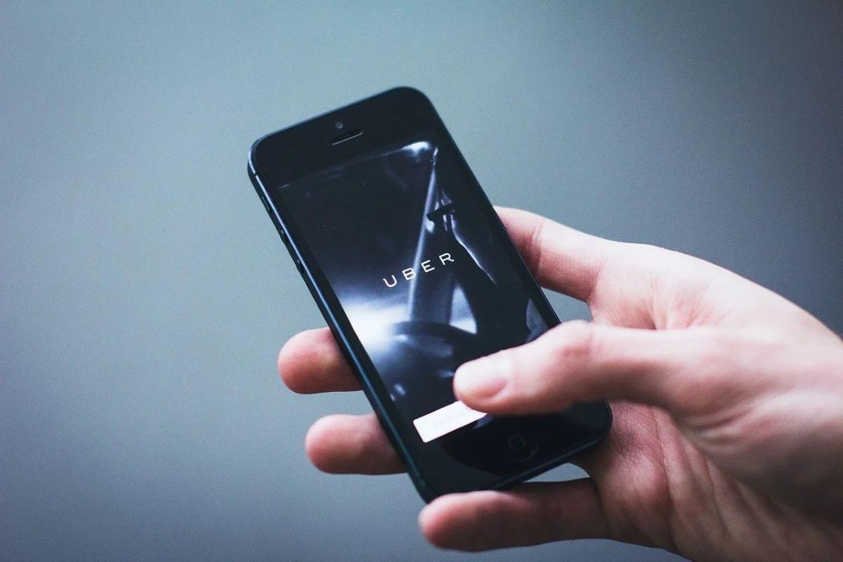 Applicazione Uber per smartphone