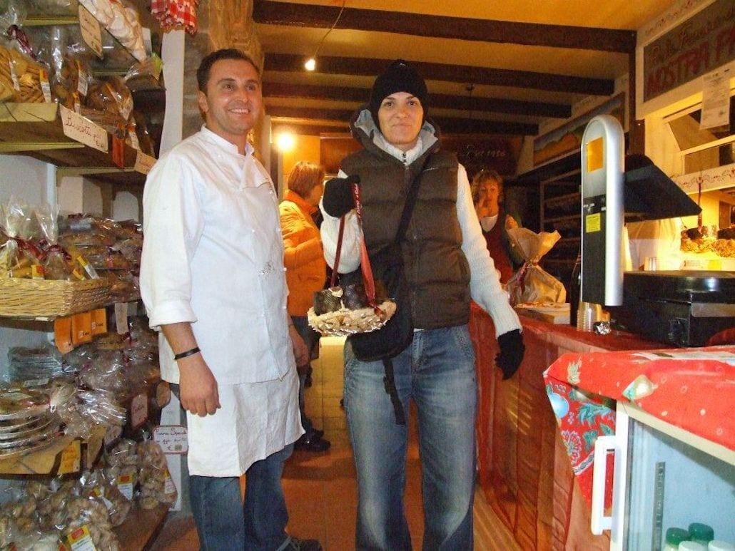 Panettone a porter al Forno Calzolari
