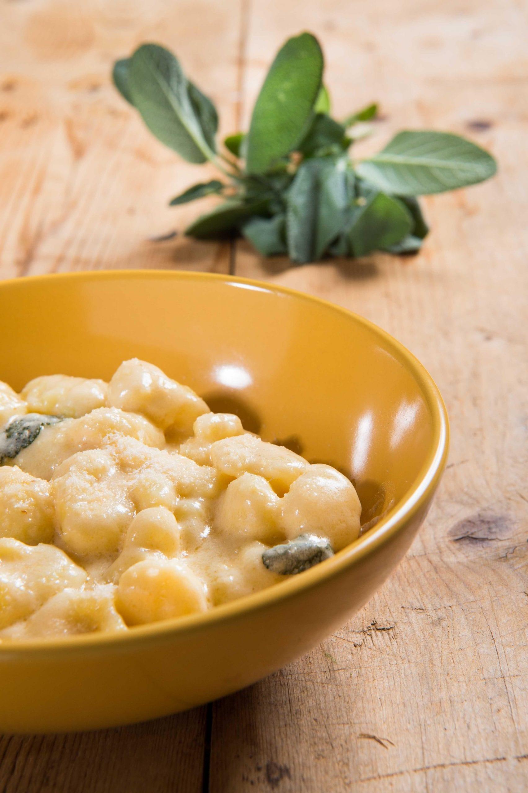 Gnocchi di patate con Parmigiano Reggiano