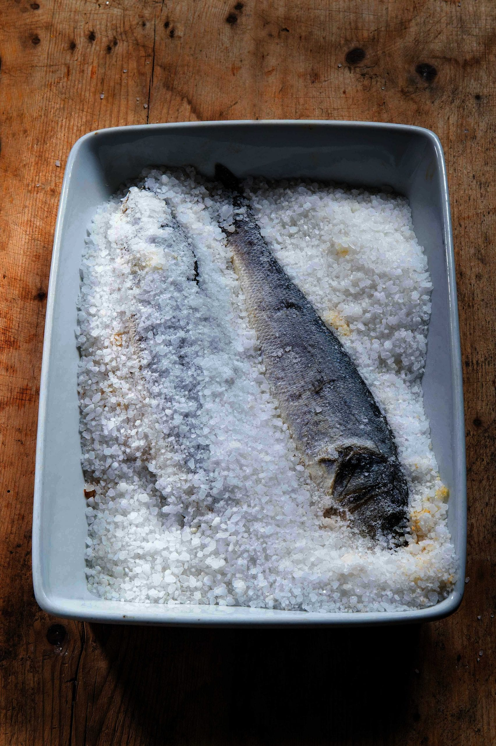Spigola al sale