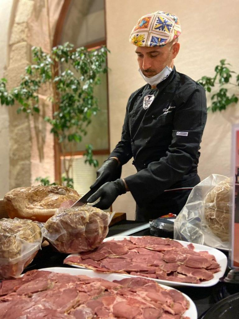 Gianni Giardina macellaio siciliano