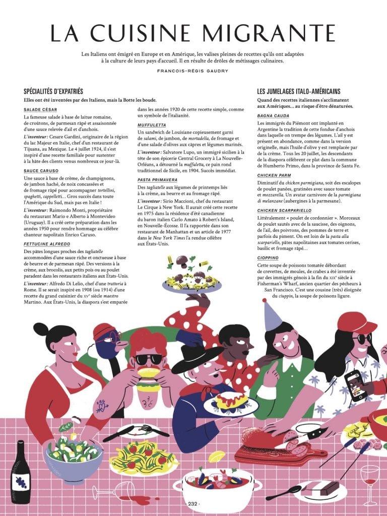 On va déguster l'Italie cuisine migrante
