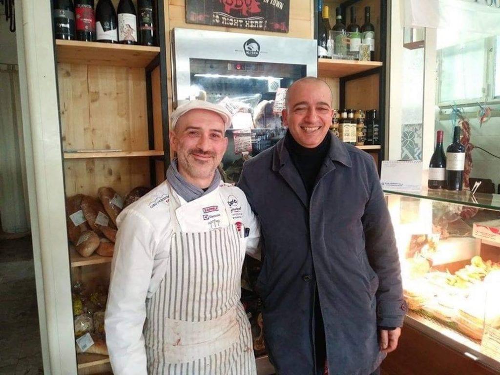 Gianni Giardina e Pino Cuttaia