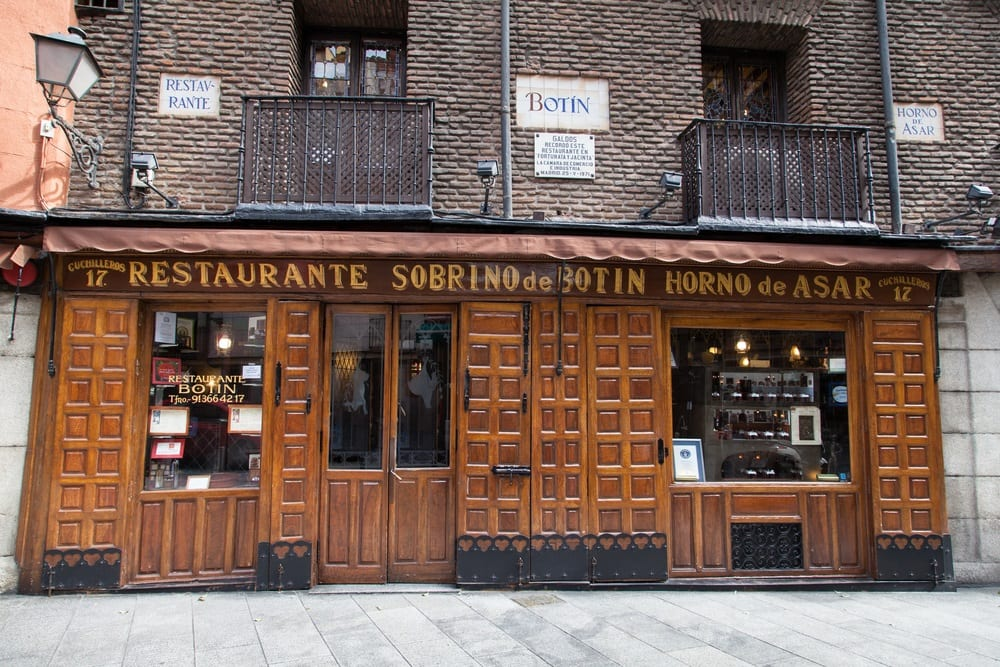 L'ingresso del Botin a Madrid