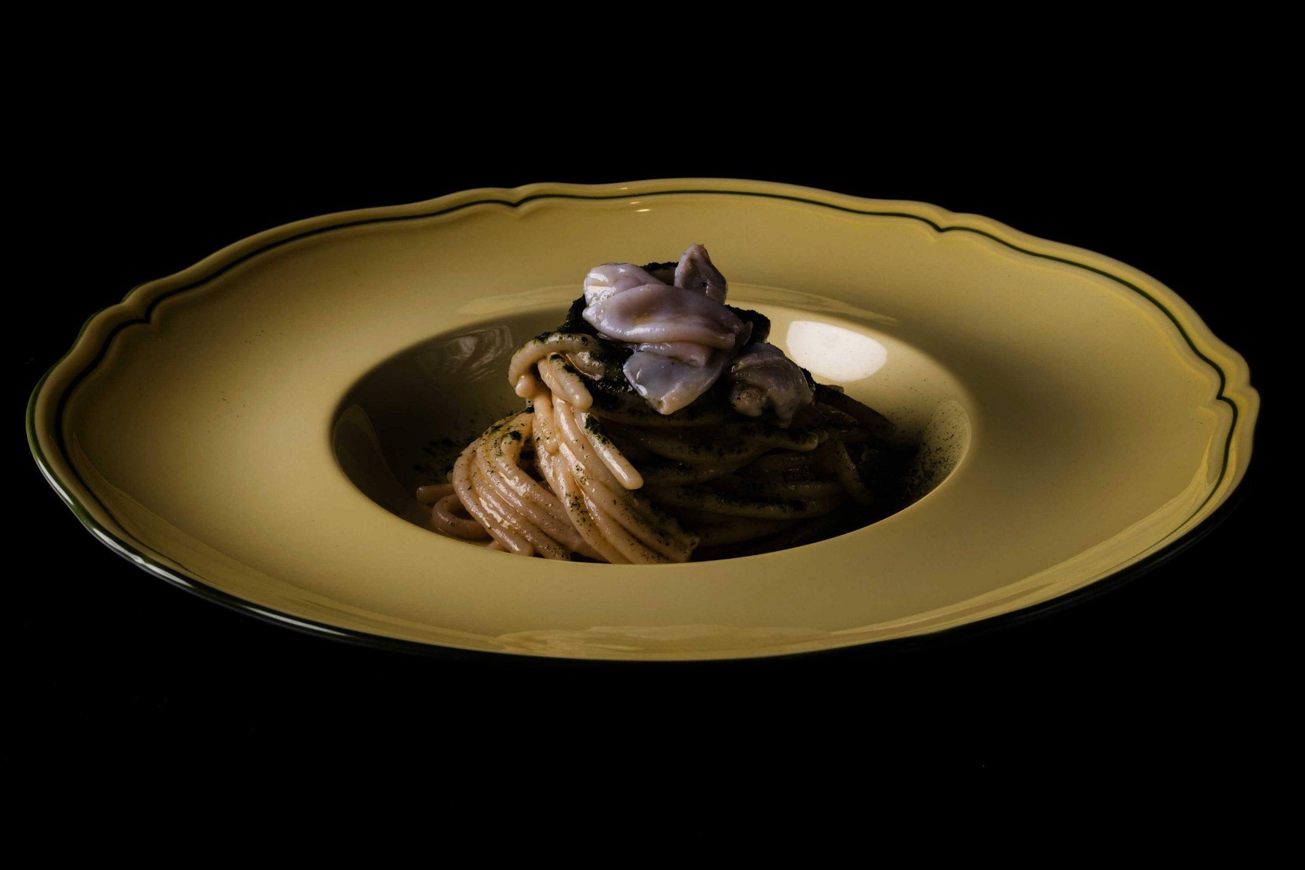 Ajo, ojo e calamaretti di Adriano Baldassarre