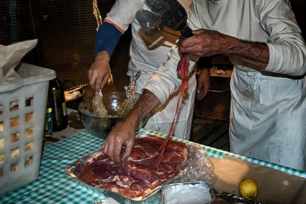 Catania carne di cavallo foto Dario Azzaro