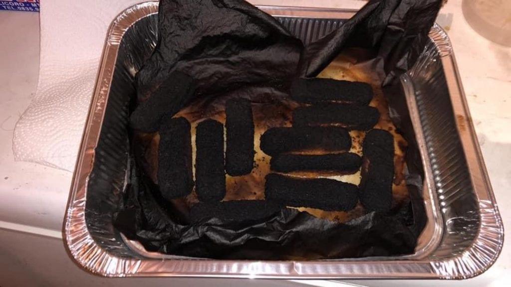 cucinaremale bastoncini bruciati