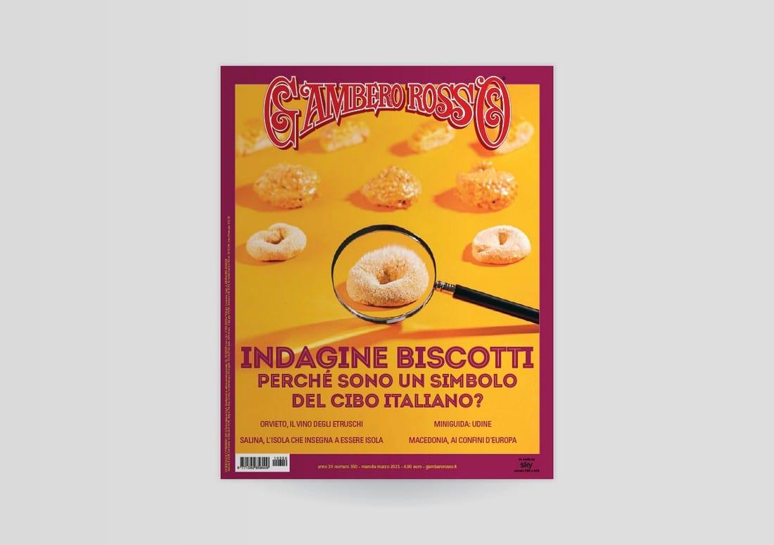 Marzo 2021 del Gambero Rosso: tutto sui biscotti della tradizione italiana