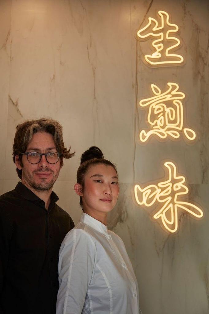il gusto dim sum Lapo Bandinelli e Liu Xinge