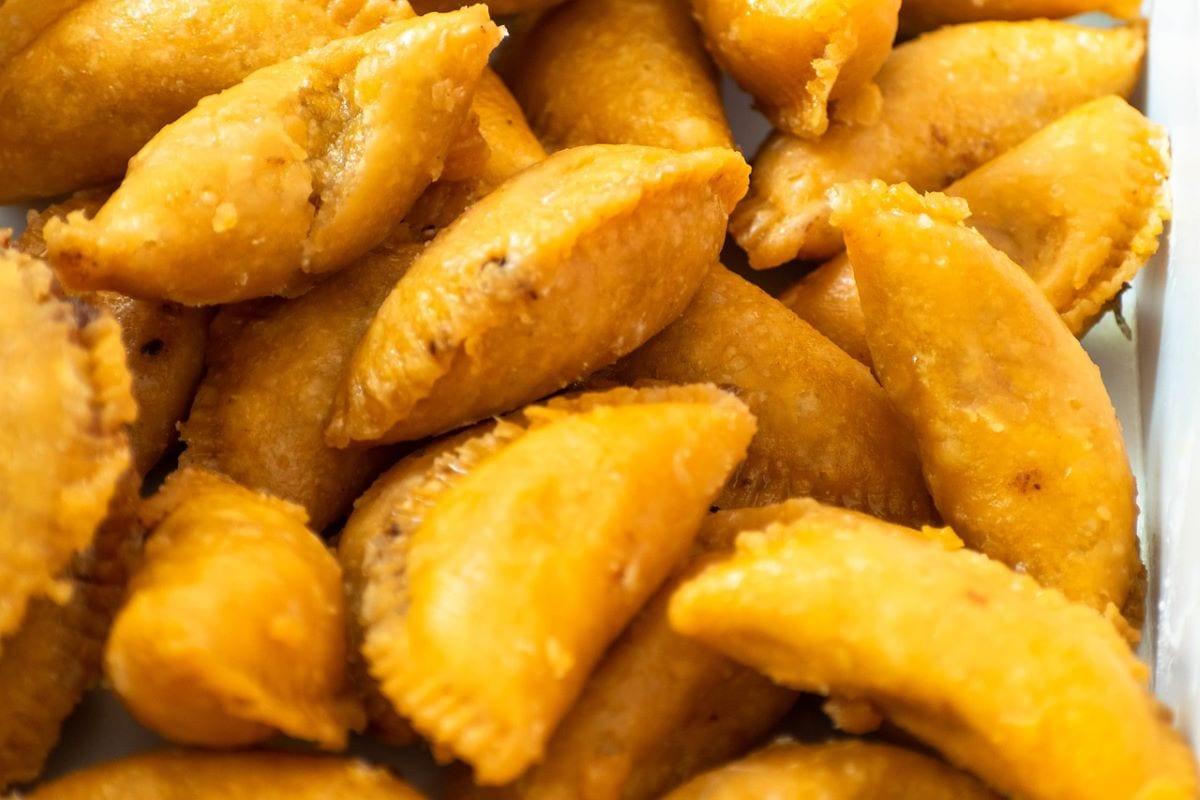 Ravioli fritti carnevale