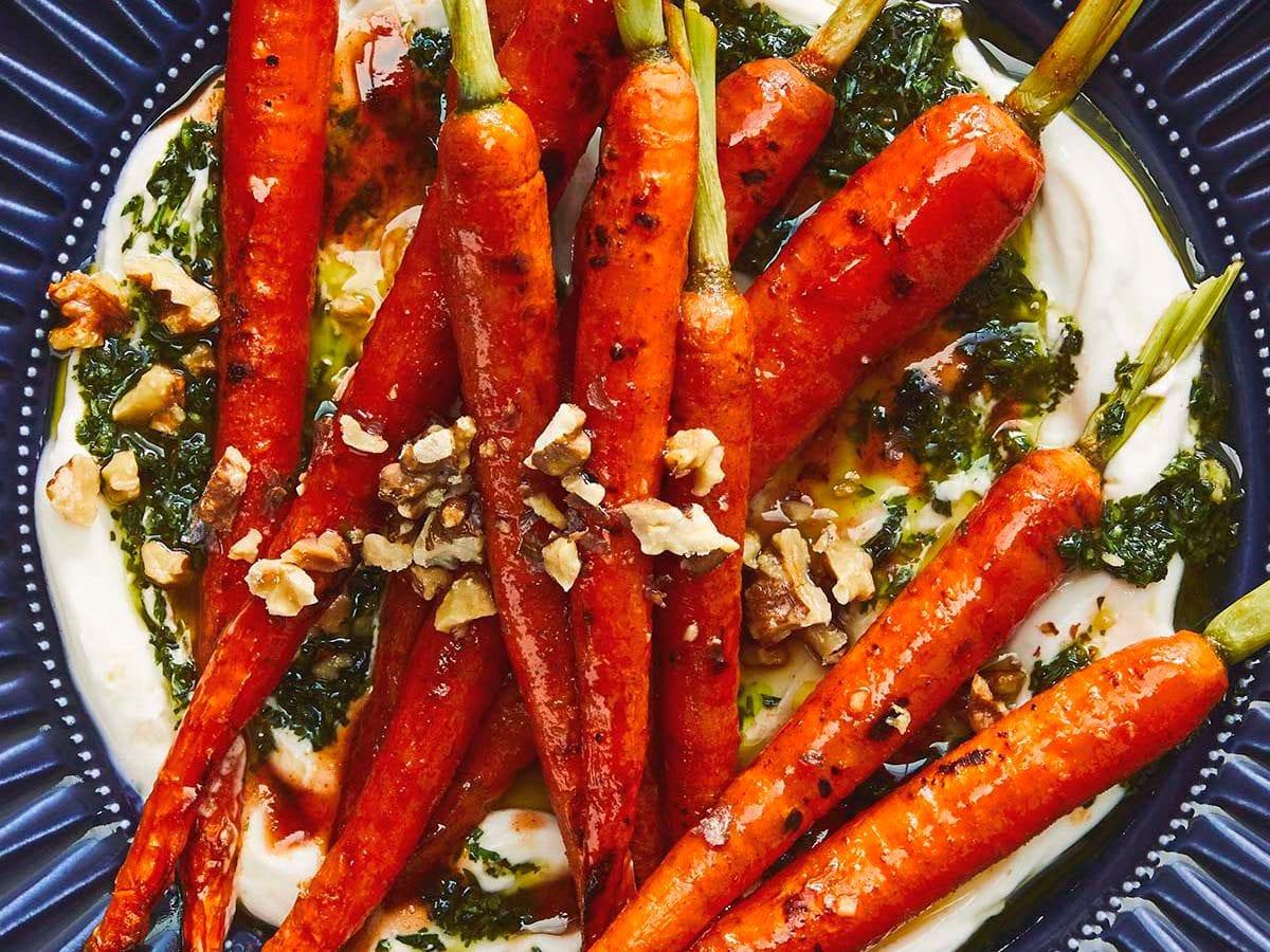 Ricetta con le carote dal libro di Ikea