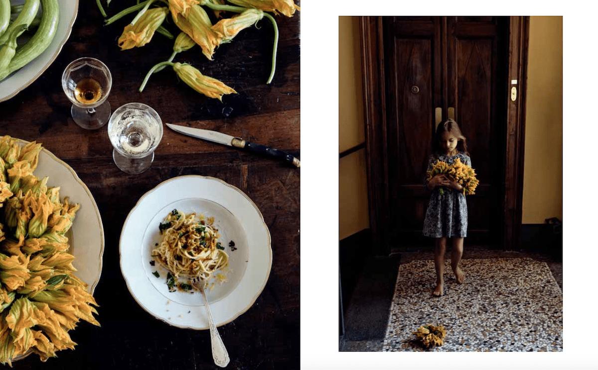 la mia antica cucina italiana fiori di zucca
