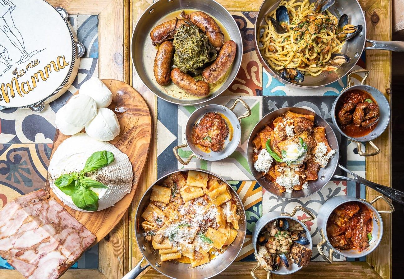 I piatti italiani di La mia mamma