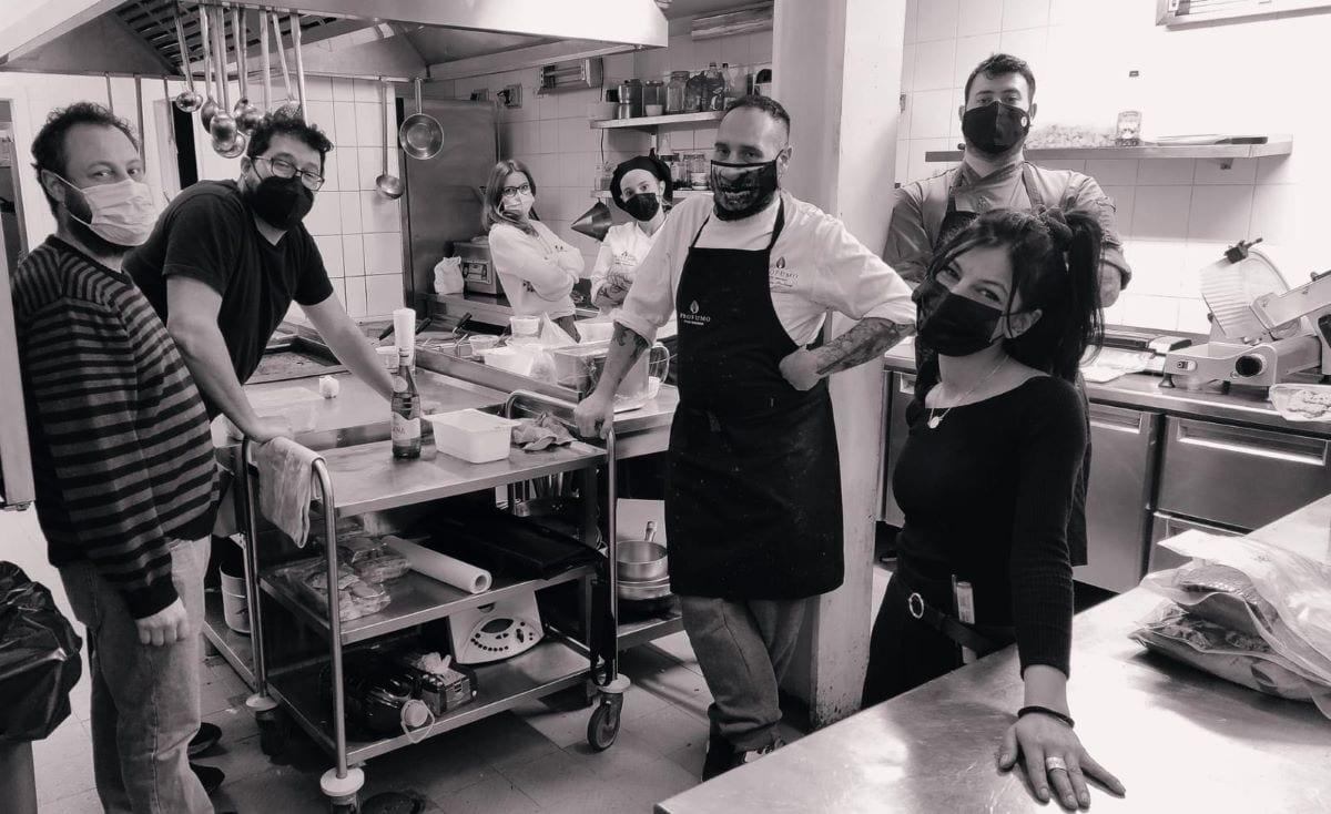 Team collettivo gastronomico