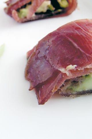 """""""Sushi"""" di tonno e manzo affumicati"""