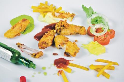 Chicken wings (ali di pollo fritte all'americana)