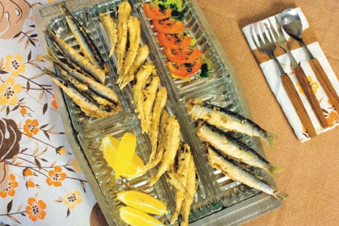 Fritturina di pesce azzurro: alici, argentine, sarde