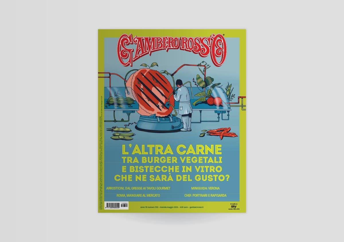 Maggio 2021 del Gambero Rosso: l'altra carne sarà il futuro delle nostre tavole?