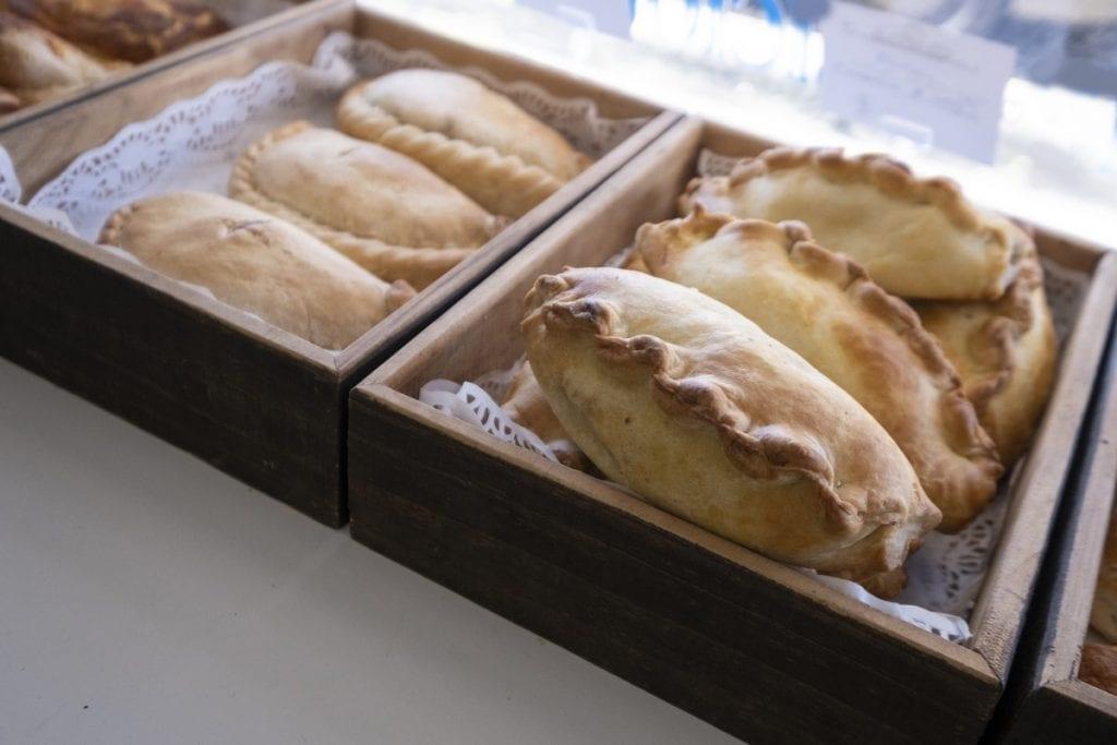 vassoio di Cornish pasty