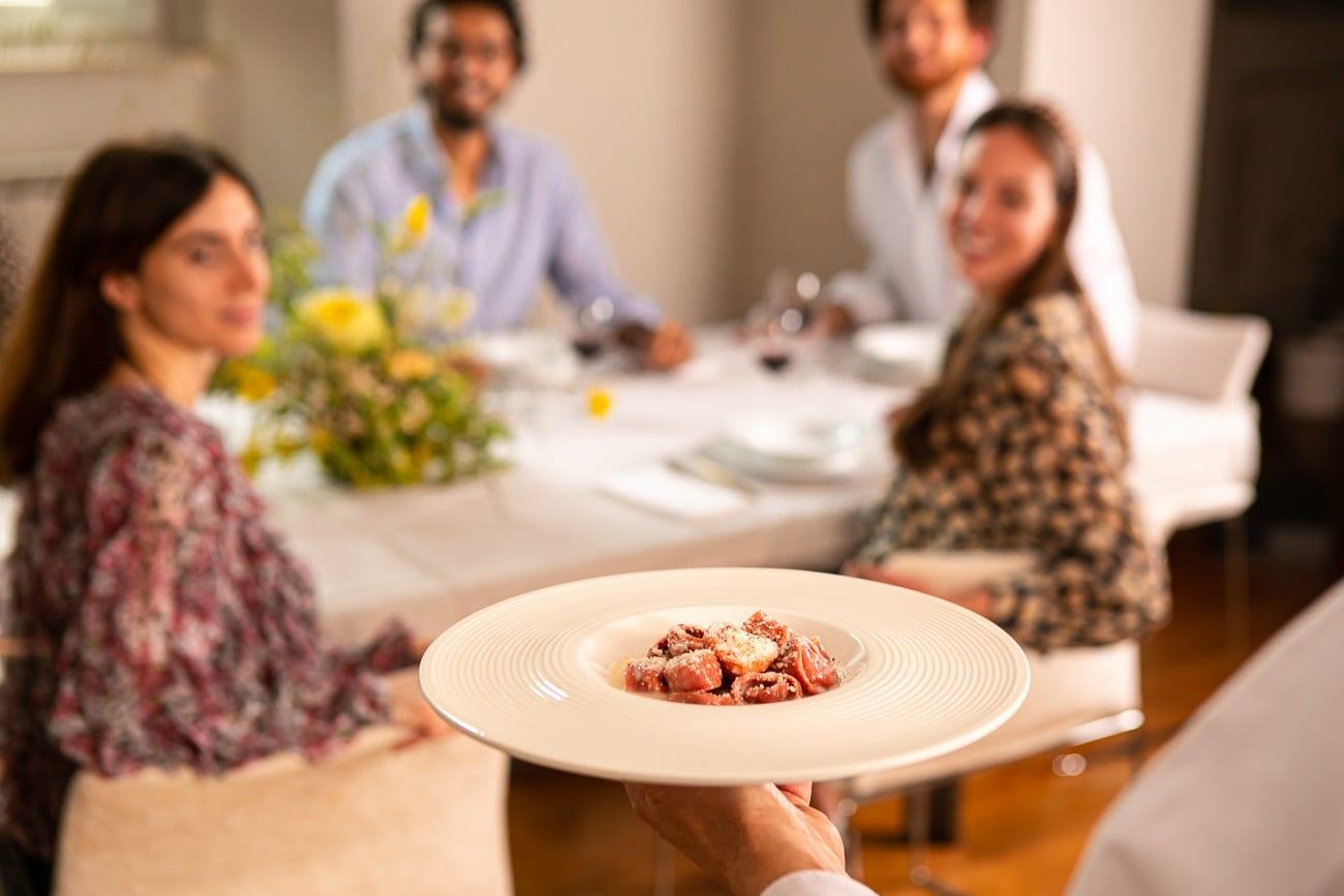 Piatto arriva in tavola